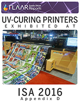 How many kinds of UV-cured printers were at ISA, all you need to know about it.
